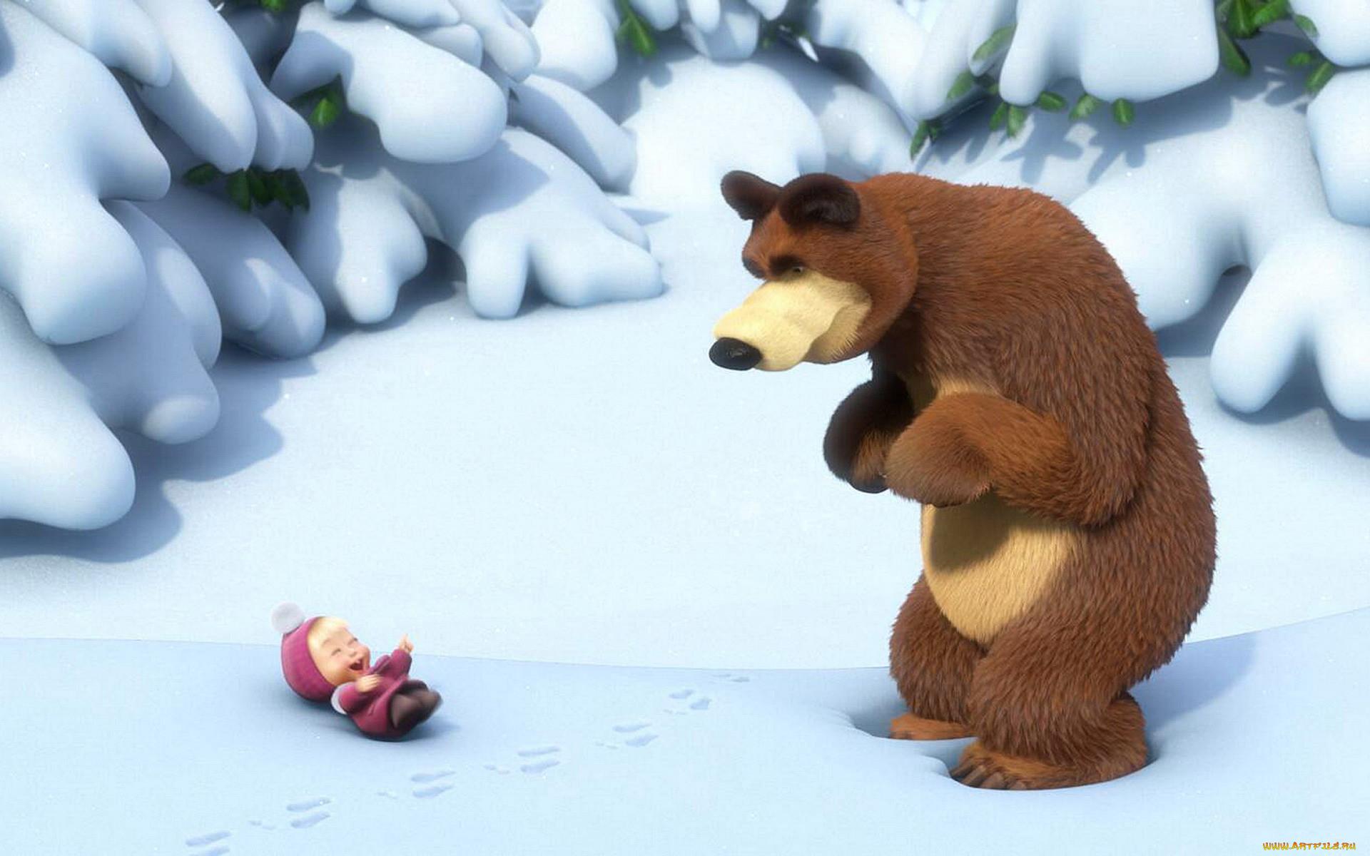 Маша и медведь лежа картинки